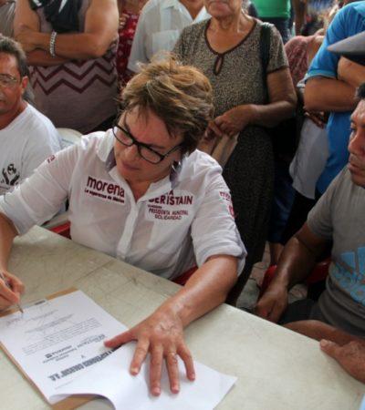 Laura Beristaín pondrá fin al fraude de la Desarrolladora de la Riviera Maya, dice