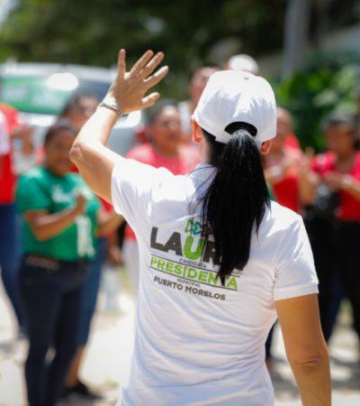 Laura Fernández Piña apuesta por nuevas tecnologías para reforzar la seguridad en Puerto Morelos