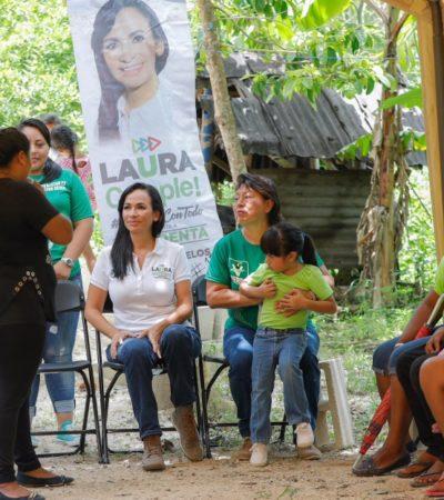 Laura Fernández buscará que Puerto Morelos tenga su propio campus universitario