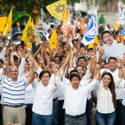 El próximo primero de julio ganaremos todos en Tulum, dice Víctor Mas