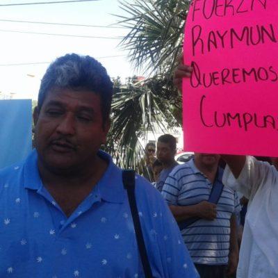Activistas del PRI en Cancún le reclaman a Viana Keller la falta de pago para operar el primero de julio