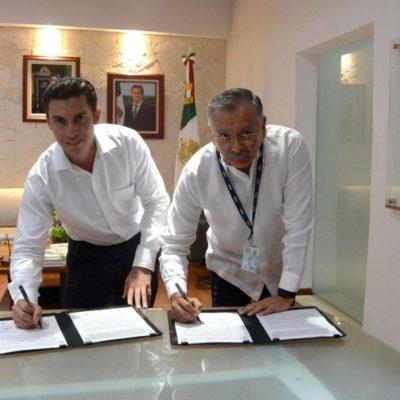 FIRMA COMUNA CONVENIO CON EL INEGI: Pondrán en marcha el Servicio de Información y Proyectos del Municipio y la construcción del Sistema de Información Unificado