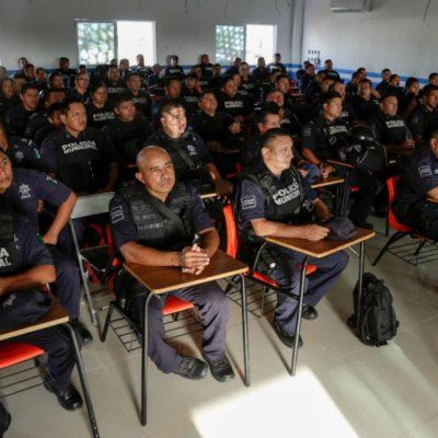 Mejores salarios para policías de Solidaridad
