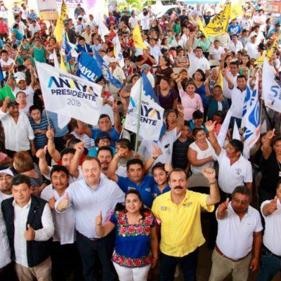 En el Congreso de la Unión, Julián Ricalde apoyará políticas de Carlos Joaquín González