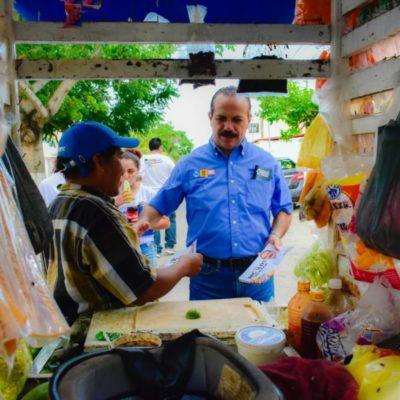 Julián Ricalde pide a la ciudadanía que vote por el cambio que ya dio resultados