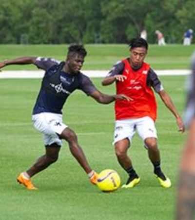 Once días de entrenamientos y Rayados no cede en su preparación física en Cancún