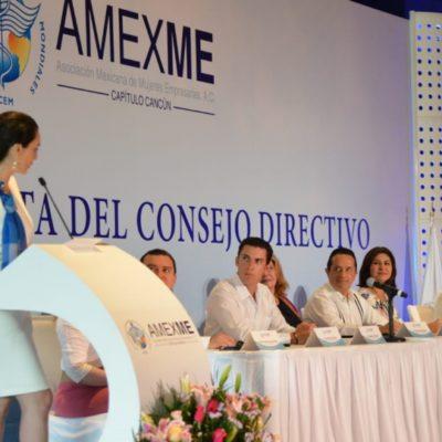 Reconocen empeño de mujeres empresarias en Cancún