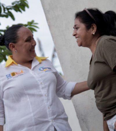 Propone Cristina Torres geolocalización de patrullas para reforzar la atención policial en Solidaridad