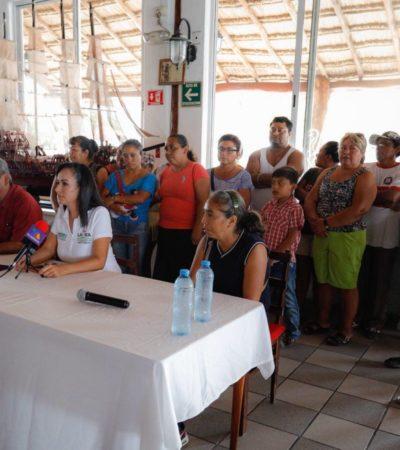 Antorcha Campesina considera a Laura Fernández como la única opción en Puerto Morelos