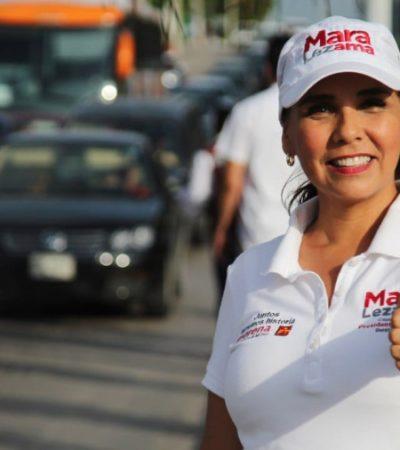 Mara Lezama coloca la seguridad como objetivo principal de su gobierno