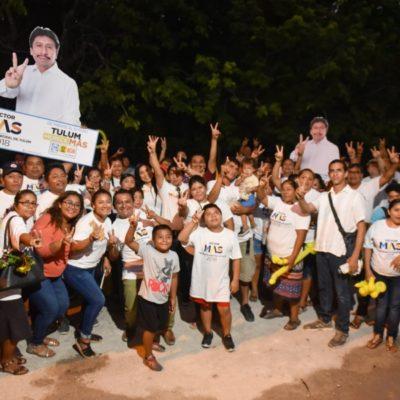 Víctor Mas Tah pondrá fin a la corrupción en dependencias municipales de Tulum, advierte