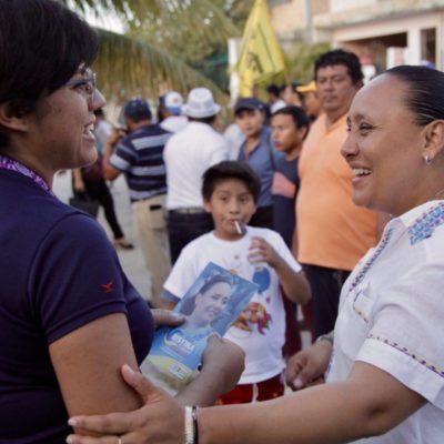 Cristina Torres dice estar más que lista para debatir en Solidaridad