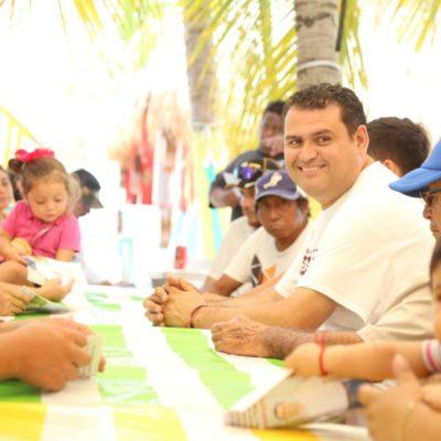 """Pide Edgar Gasca el voto para Morena """"para sacar al PRI corrupto"""" de Isla Mujeres"""