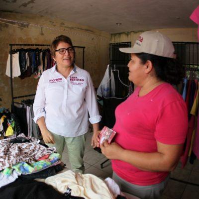 Laura Beristain impulsará más negocios propios entre los playenses