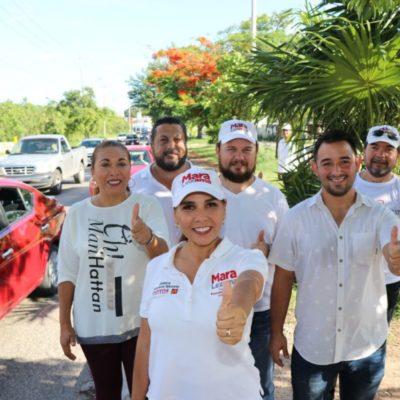 Mara Lezama convoca a cerrar filas con AMLO; mañana estará Andrés Manuel en Cancún
