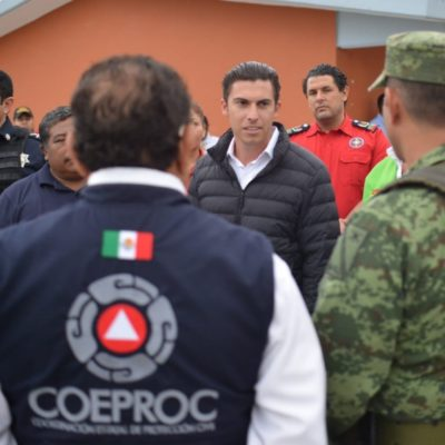Ayuntamiento de Benito Juárez se reporta listo para Temporada de huracanes