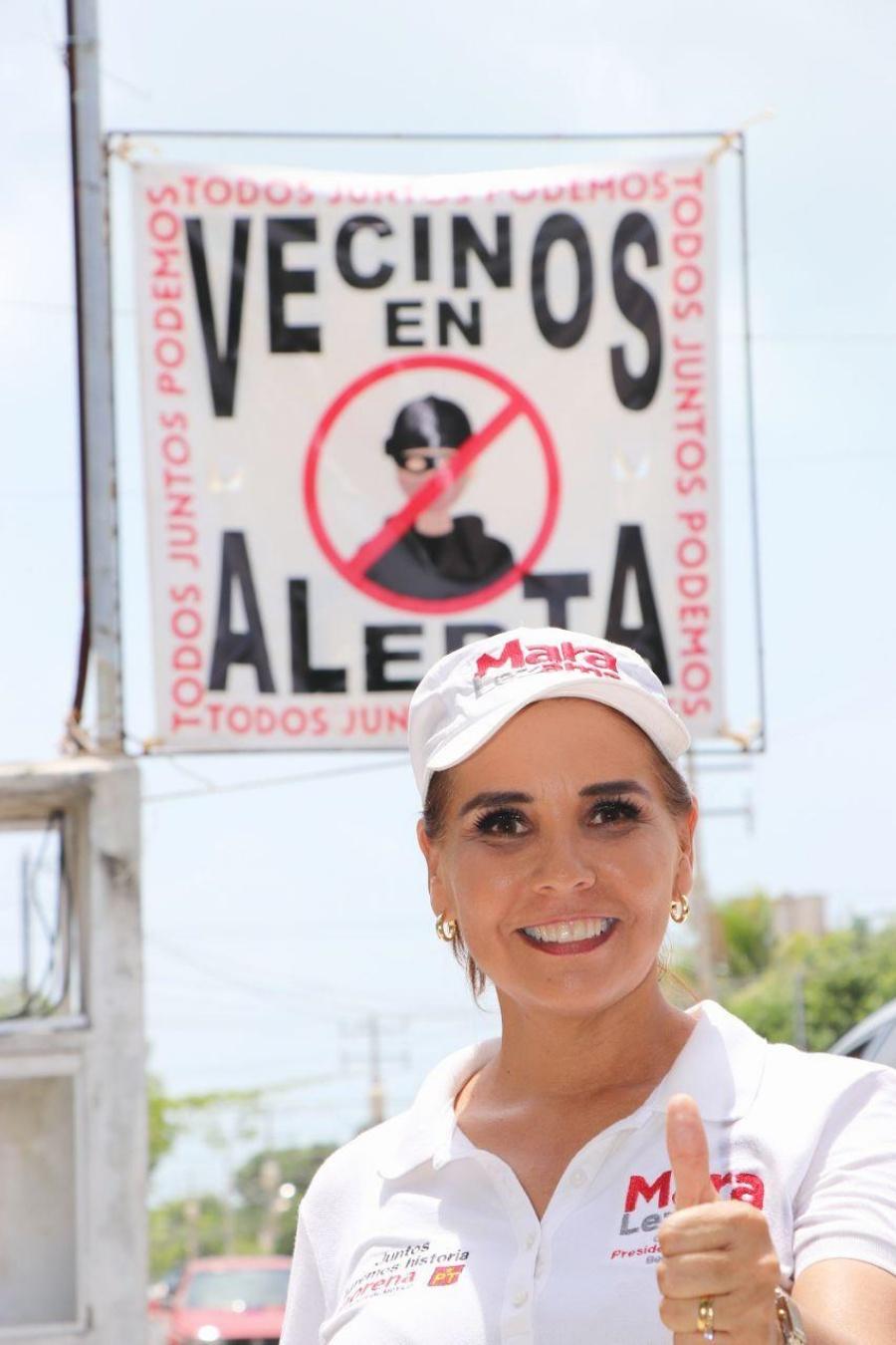 Mara Lezama rofrece rescatar el Centro Histórico de Cancún
