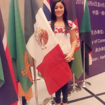 Carrilloportense es la única mexicana seleccionada por chinos para asistir a 'Seminario de Procesamiento de Productos Agrícolas y Pecuarios' en Heilonjiang