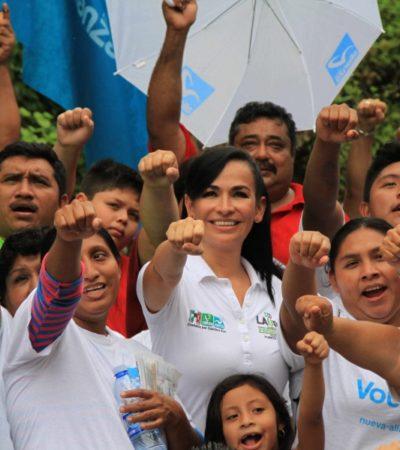 Laura Fernández ofrce no dejar de apoyar a las comunidades de Central Vallarta y Delirios