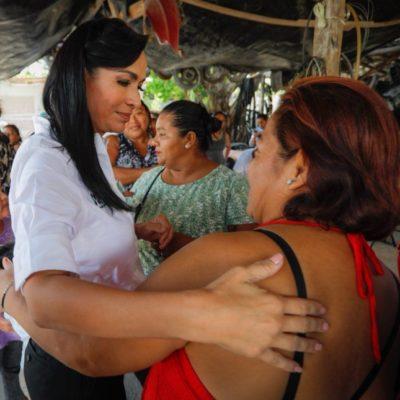 Laura Fernández se propone establecer un Puerto Morelos sustentable