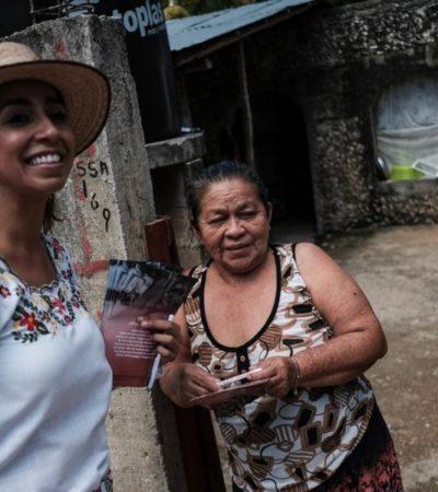 José María Morelos exige justiciay necesita de todos los quintanarroenses: Marybel Villegas