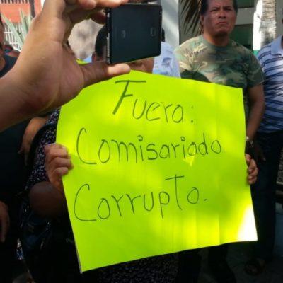 Exigen 200 destitución del comisariado ejidal de Calderitas
