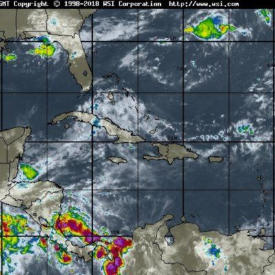 Onda de calor y onda tropical provocarán altas temperaturas y zonas de tormenta en los siguientes días en Quintana Roo