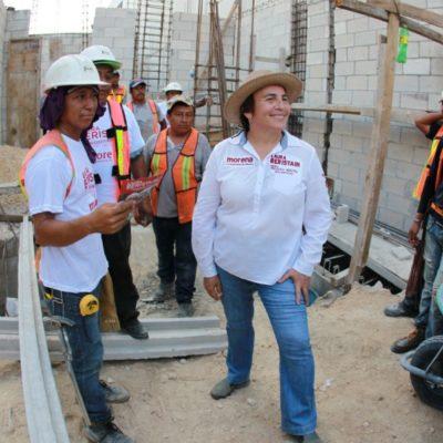 Laura Beristain propone más trabajo con el sector empresarial