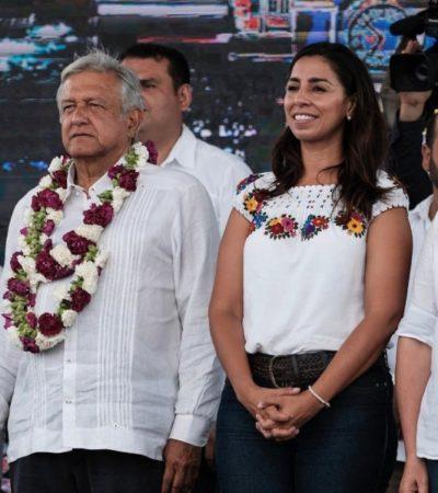 Marybel Villegas asegura que AMLO ya ganó en Quintana Roo