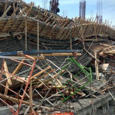 Aún con prohibición siguen construyendo en Puerta del Mar