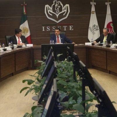 Marina González Zihel es ratificada como Delegada del Issste en Quintana Roo