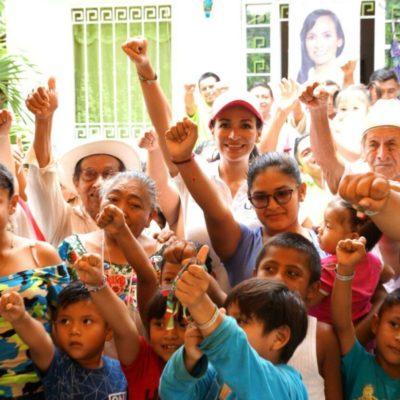 Un Centro de Capacitación para el Trabajo abrirá Laura Fernández en su reelección en Puerto Morelos, anuncia