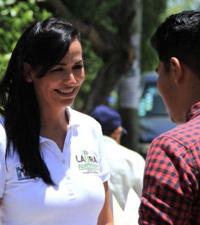 Laura Fernández construirá un complejo deportivo, cultural y de desarrollo humano al final de la Avenida Timón