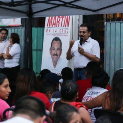 Martín de la Cruz Gómez fortalecerá el sistema médico de Solidaridad, asegura