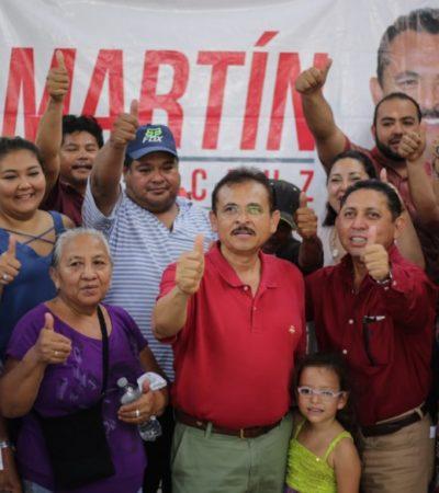 Martín de la Cruz se compromete a llevar a cabo un convenio entre gobierno, universidades y empresarios para obtener un empleo digno