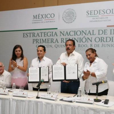 Gobierno de Benito Juárez se suma a la Estrategia Nacional de Inclusión