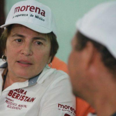 Laura Beristaín creará una Policía de Barrio, anticipa