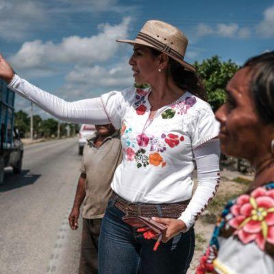 Ofrece Marybel Villegas atender los problemas de rezago de Lázaro Cárdenas