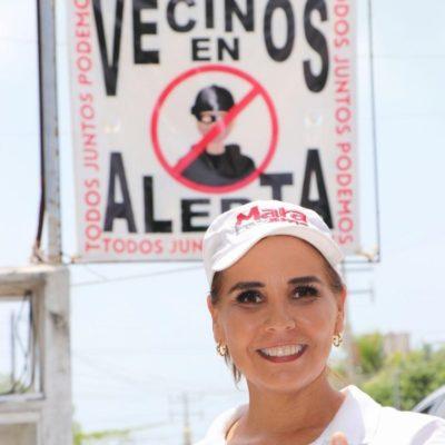 Mara Lezama ignora campaña sucia en su contra