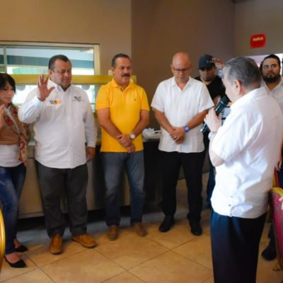 Se reúne Julián Ricalde con pastores de diferentes iglesias para ratificar su compromiso con Quintana Roo
