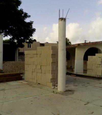 Antes que acabe ciclo escolar demuelen el histórico jardín de niños Sac Nicté