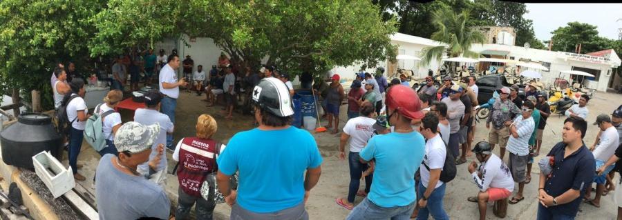 Edgar Gasca asegura que el progreso para el sector pesquero vendrá de la mano de AMLO
