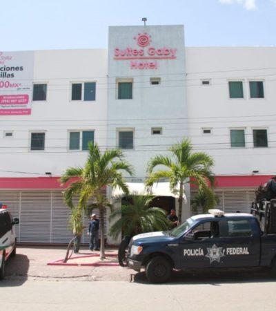 OPERATIVO DE MIGRACIÓN EN EL CENTRO DE CANCÚN: Reportan indocumentados en Suites Gaby Hotel, pero no encuentran a ninguno