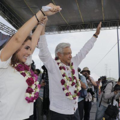 """""""Con su voto este próximo 1 de Julio, ¡ya ganamos!"""", confía Mara Lezama"""