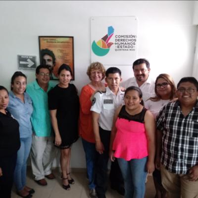 Acuerdan Agenda de Trabajo de Derechos Humanos 2018-2022 en Puerto Morelos