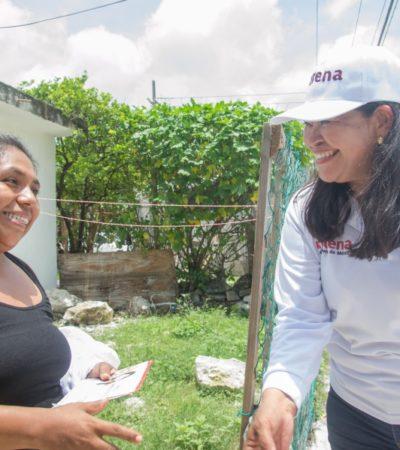 Mildred Ávila buscará mayores recursos de la federación para el fortalecimiento municipal