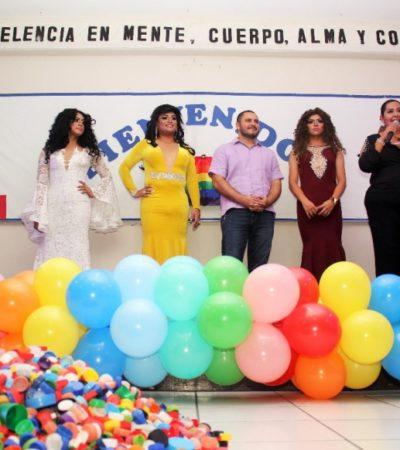 Asiste Issac Janix a 'Fiesta de la Diversidad' y ofrece un gobierno incluyente para derribar los muros de la intolerancia