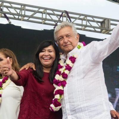 Mildred Ávila celebra el espaldarazo ciudadano a la coalición 'Juntos Haremos Historia'