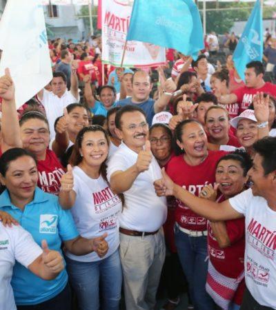 Solidaridad recuperará su grandeza con 'propuestas y soluciones contundentes', asegura Martín de la Cruz