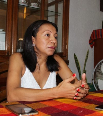 La viuda del periodista José Alberto Velázquez López, asesinado en Tulum hace nueve años, pide justicia al Gobernador Carlos Joaquín González